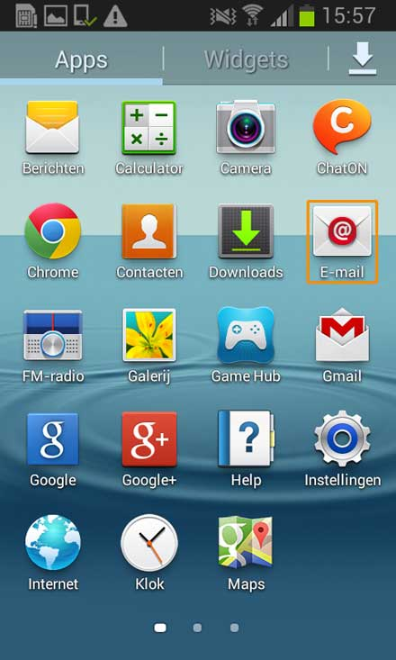 android smartphone 7 oud instellen nl 02